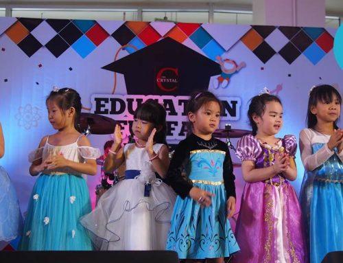 AnnyTalk Kids นำเด็กๆแสดงความสามารถบนเวที ในงาน Education Fun Fair